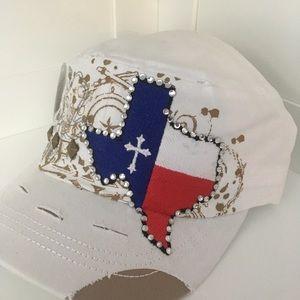 Accessories - White Texas Cadet Cap